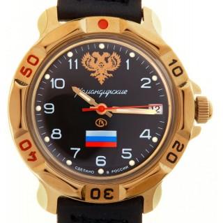 """Ruské hodinky VOSTOK Komandirskie """"Erb"""" (439646)"""