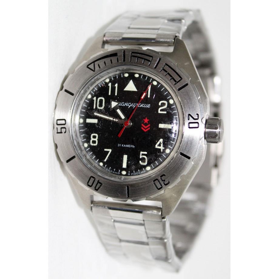 Ruské hodinky VOSTOK Komandirskie K-65 (650540) 4fbf54b8d17