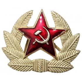 "Odznak Kokarda ""Erb SSSR se hvězdou"""