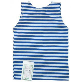 Ruské námořnické triko bez rukávů (světle-modré, pro děti)