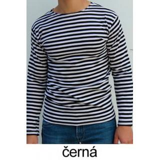 Ruské námořnické triko (ZIMNÍ, černé, dlouhý rukáv)