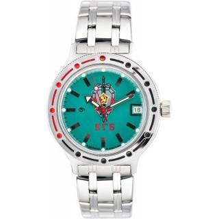 """Ruské hodinky VOSTOK Komandirskie """"KGB"""" Amfibie (420945)"""