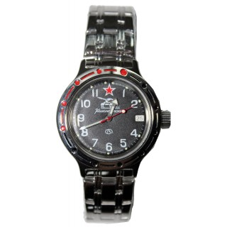 "Ruské hodinky VOSTOK Komandirskie ""Tankista"" Amfibie (420306)"