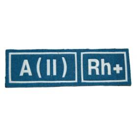 """Nášivka """"A(II) RH+"""" VDV"""