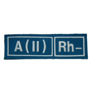 """Nášivka """"A(II) RH-"""" VDV"""