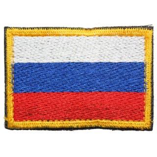 "Nášivka ""Vlajka Ruska"" suchý zip"