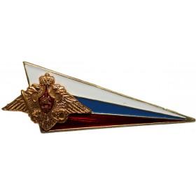 """Odznak na baret """"Ugolok"""" Ozbrojené síly (vlajka RF)"""
