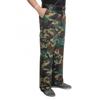 """Kalhoty letní """"Zelený"""" (KMF """"RIP-Stop"""")"""