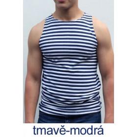 Ruské námořnické triko (tmavě-modré, bez rukávů)