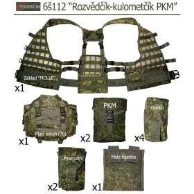 """Taktická vesta 6š112 """"Rozvědčík-kulometčík PKM"""" (Ruska Cifra)"""