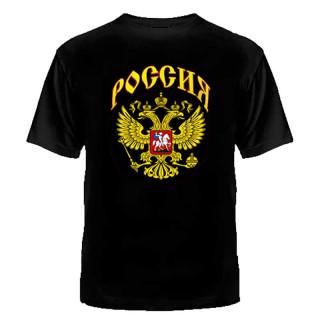 """Tričko s potiskem """"Rusko"""" (orel)"""