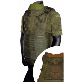 Neprůstřelna vesta Defender 2 Diagonal Molle (replika)